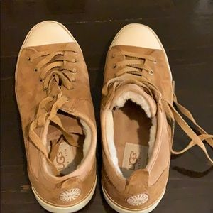 Camel Color Ugg's Sneakers size 8